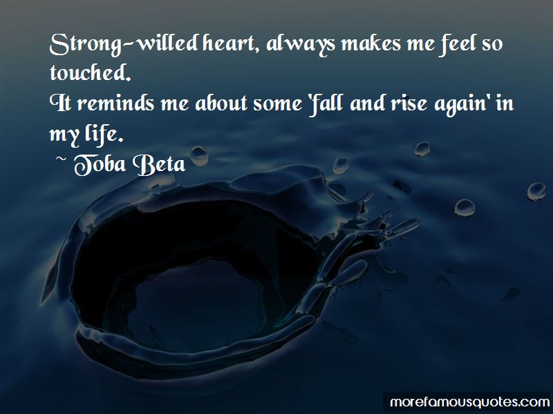 Fall And Rise Again Quotes