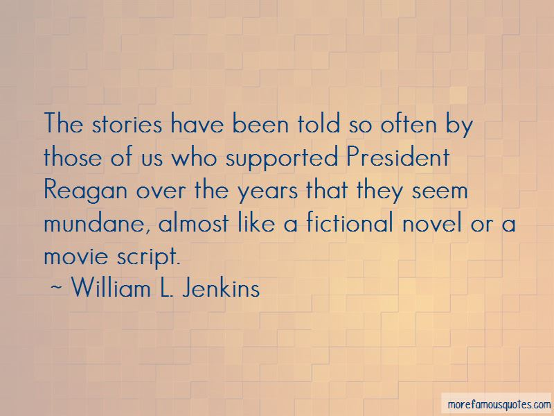Fictional President Quotes