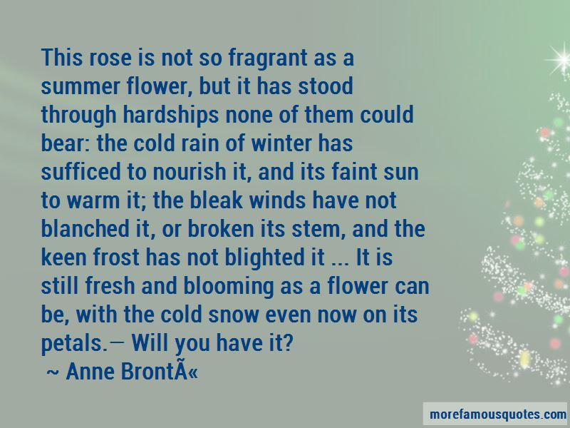 Flower Sun And Rain Quotes Pictures 2