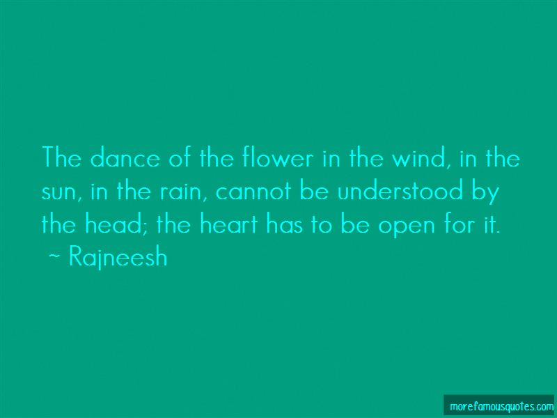 Flower Sun And Rain Quotes