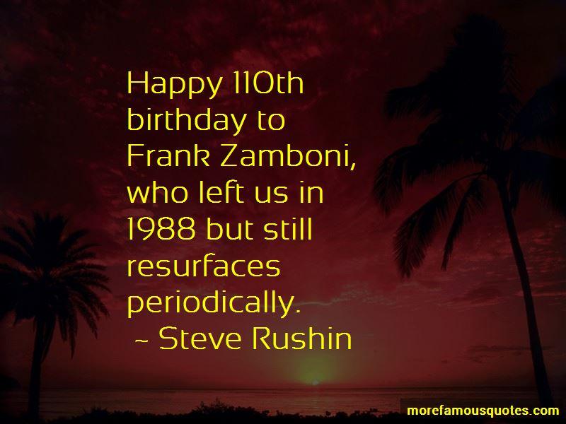 Frank Zamboni Quotes