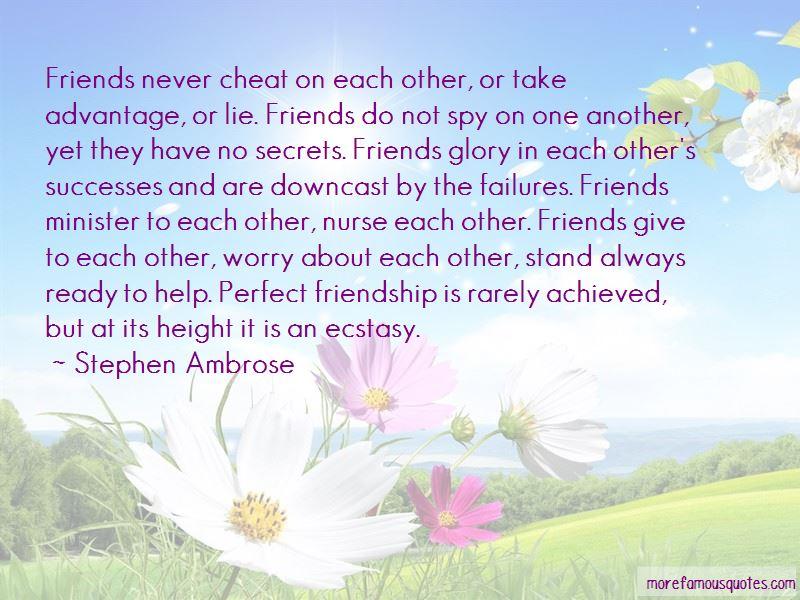 Friends Advantage Quotes