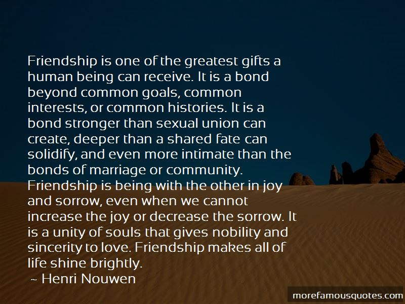 Friendship Stronger Than Love Quotes