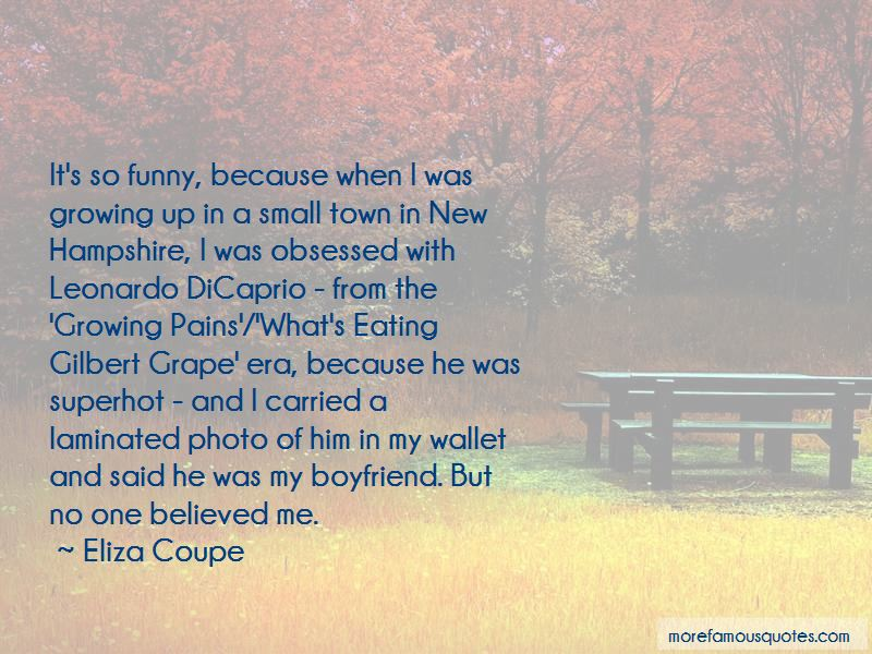Funny New In Town Quotes