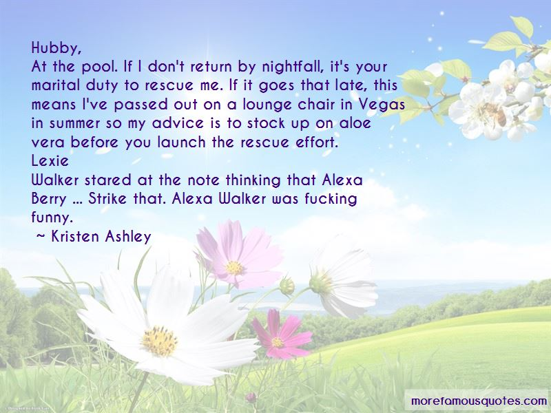 Funny Rescue Me Quotes