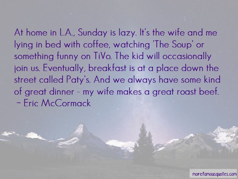 Funny Sunday Dinner Quotes