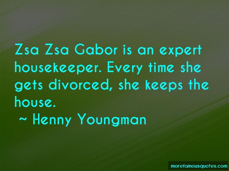 Gabor Quotes
