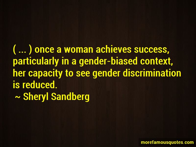 Gender Biased Quotes