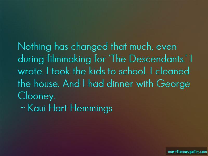 George Clooney Descendants Quotes