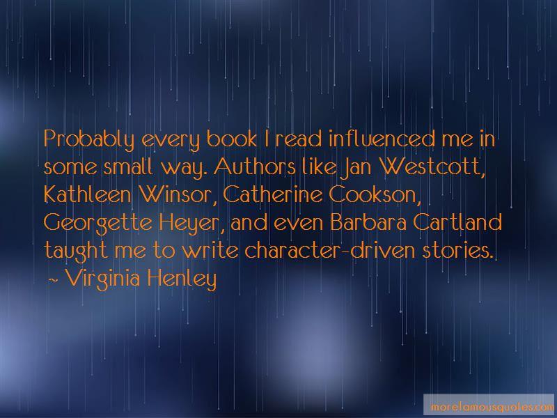 Georgette Heyer Book Quotes
