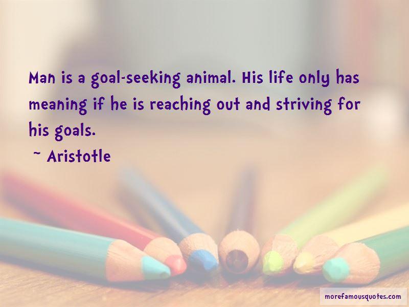 Goal Seeking Quotes