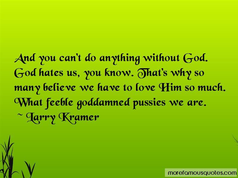 God Hates Us Quotes