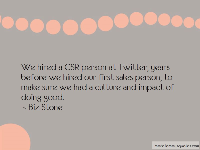 Good Csr Quotes