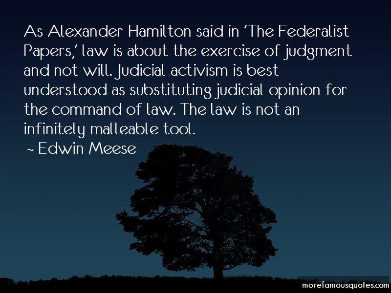 Hamilton Federalist Quotes