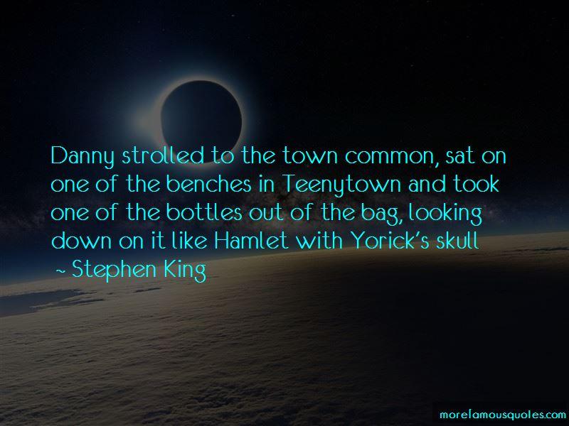 Hamlet Skull Quotes