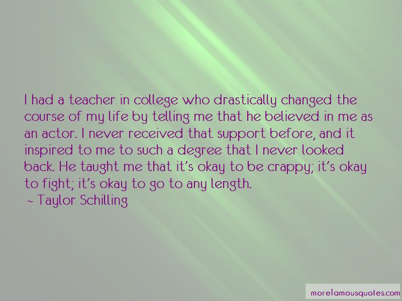 He Believed In Me Quotes