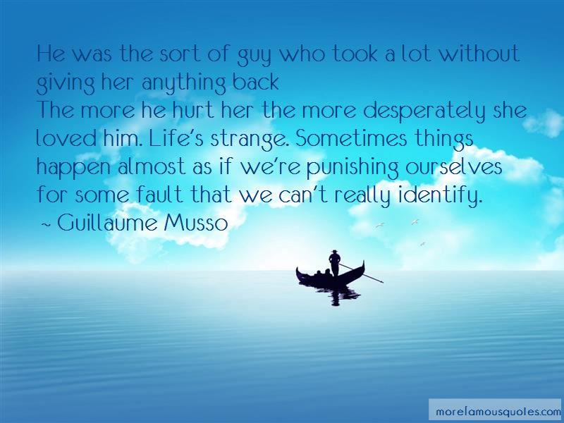 He Hurt Her Quotes