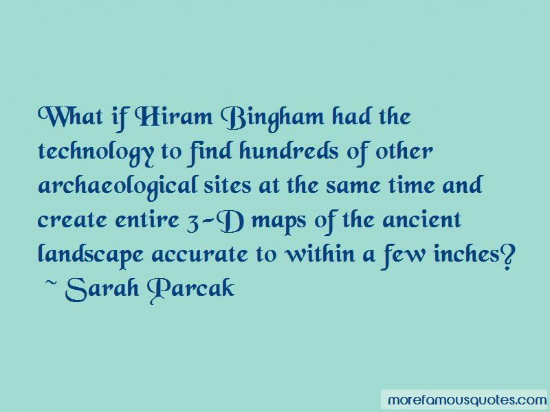 Hiram Bingham Quotes