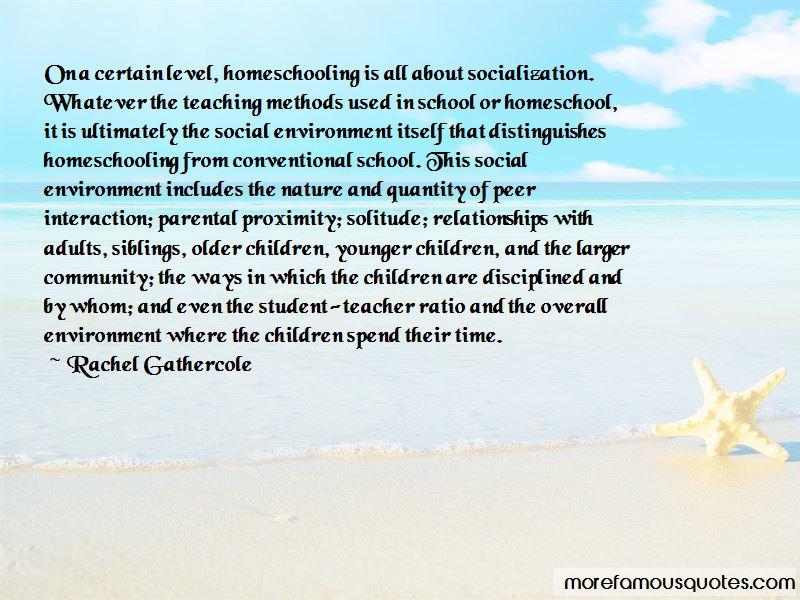 Homeschool Socialization Quotes