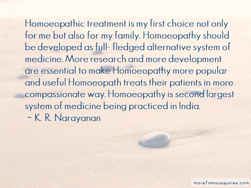 Homoeopathic Quotes
