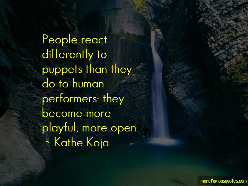 Human Puppets Quotes