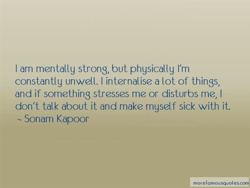 I Am Mentally Sick Quotes