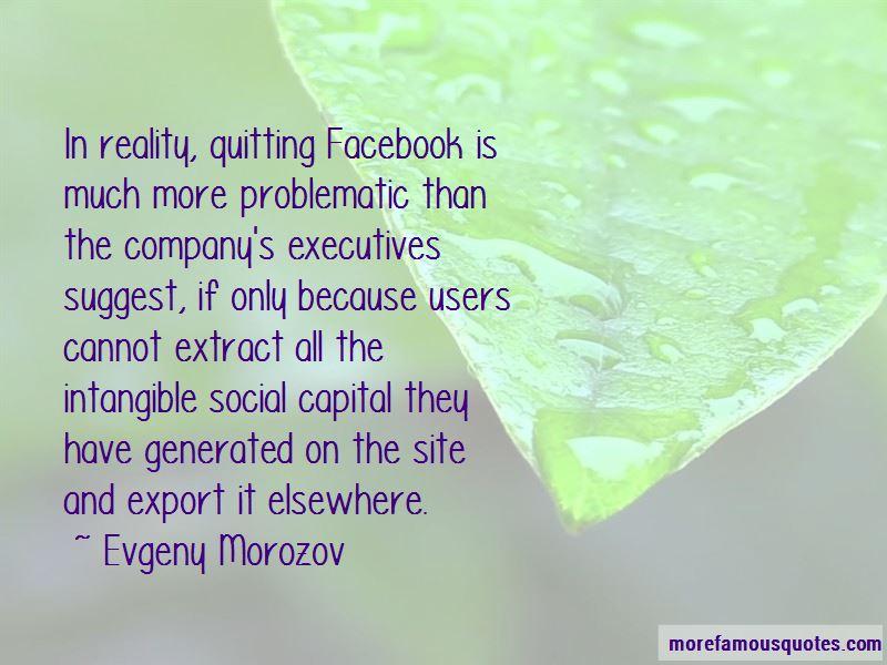 I Am Quitting Facebook Quotes