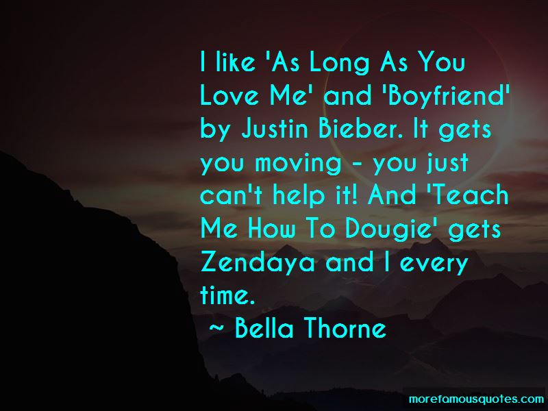 I Love You Justin Quotes