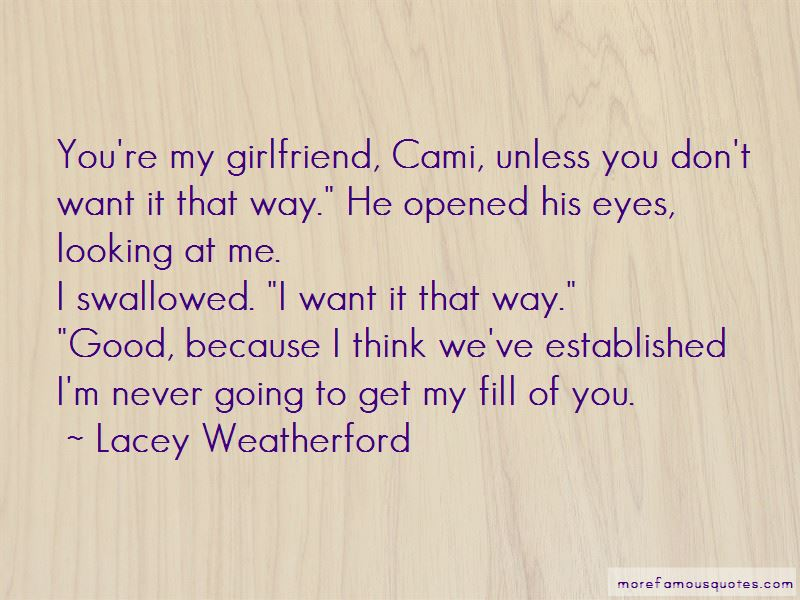 I Want It That Way Quotes