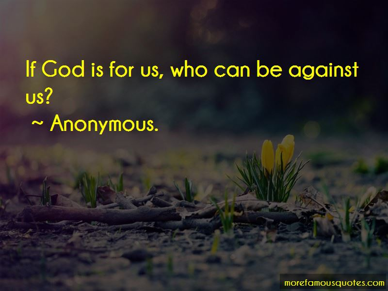 If God Is For Us Quotes Pictures 3