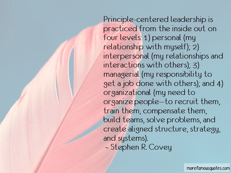 Interpersonal Leadership Quotes
