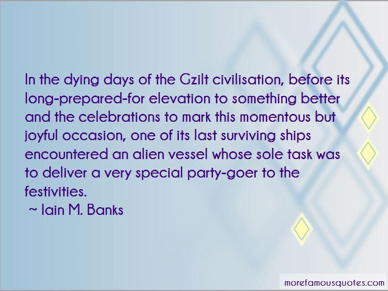 Joyful Occasion Quotes