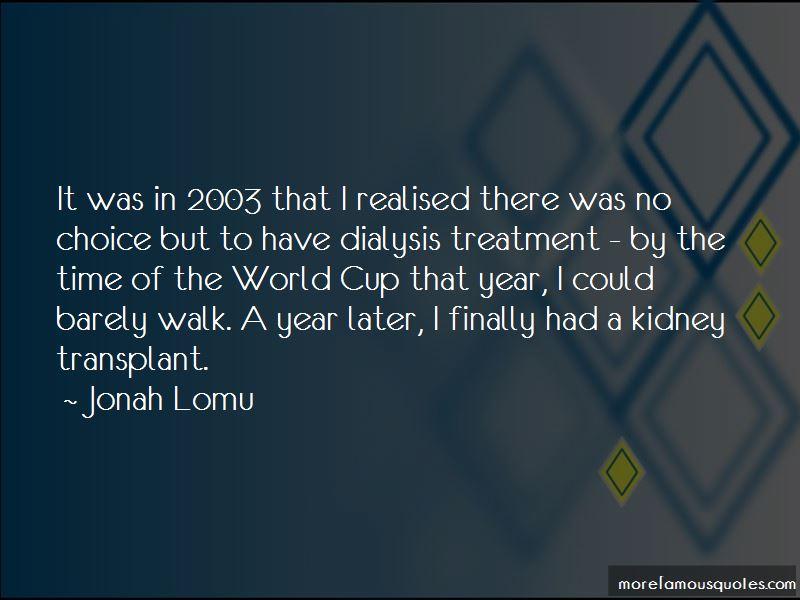 Kidney Walk Quotes