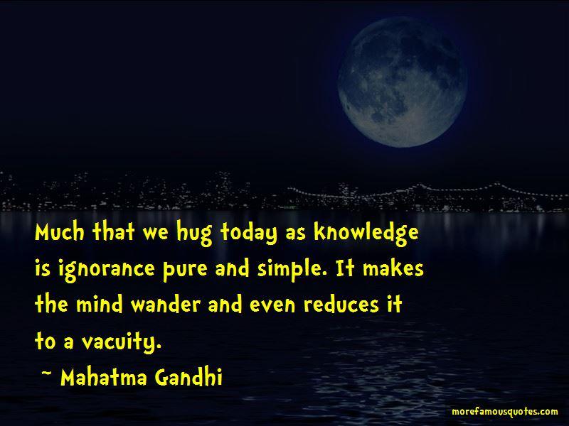 Knowledge Is Ignorance Quotes
