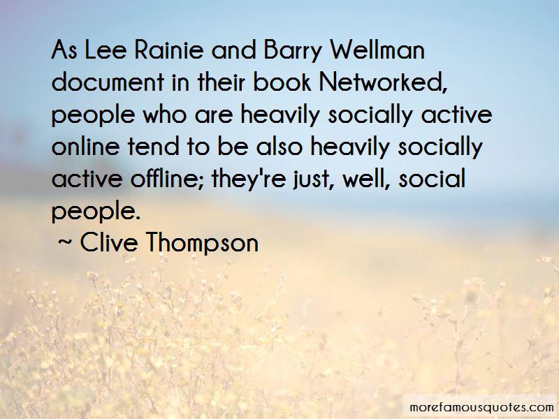 Lee Rainie Quotes