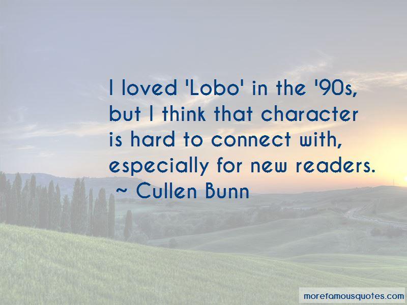 Lobo Dc Quotes