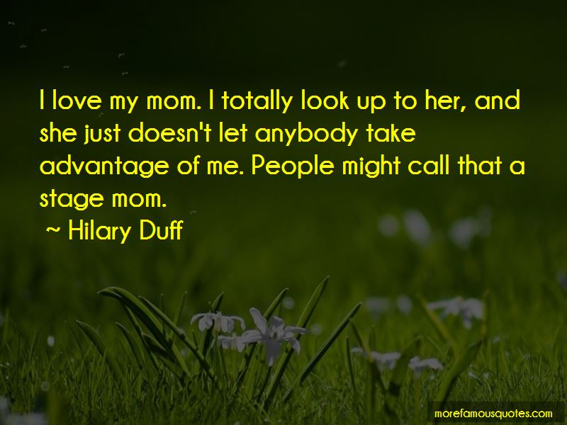Look Up To Mom Quotes