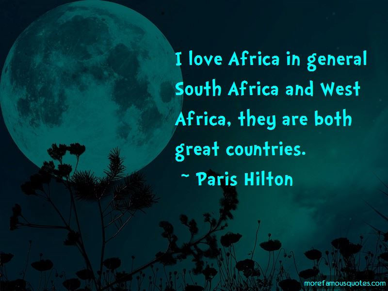 Love Africa Quotes