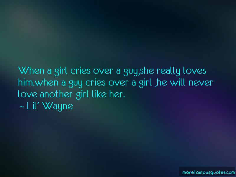 Love Another Girl Quotes