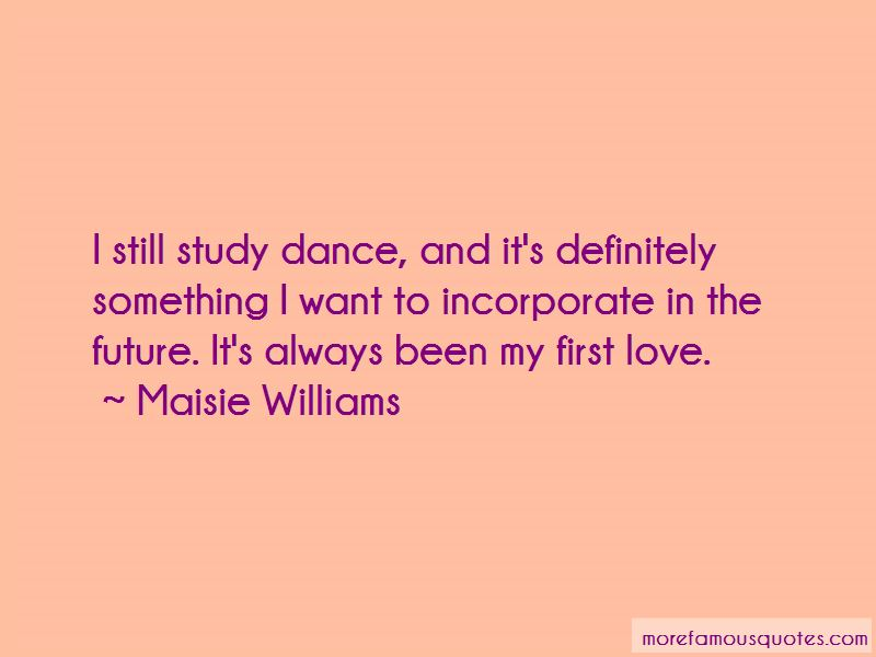 Love At First Dance Quotes