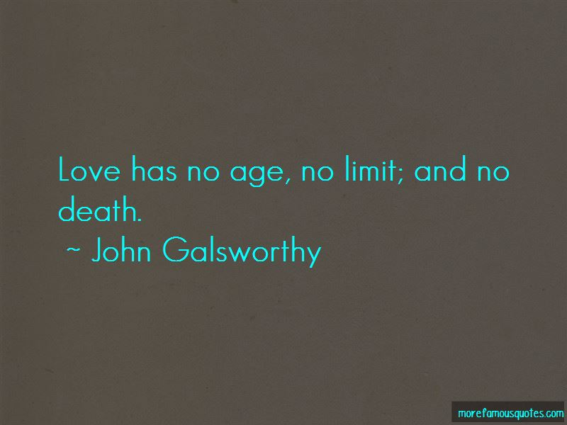 Love Has No Age Limit Quotes