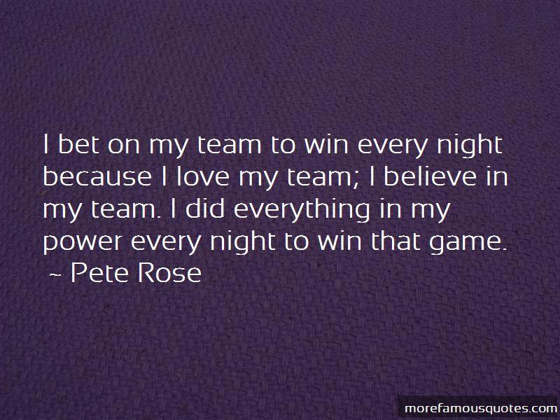 Love My Team Quotes