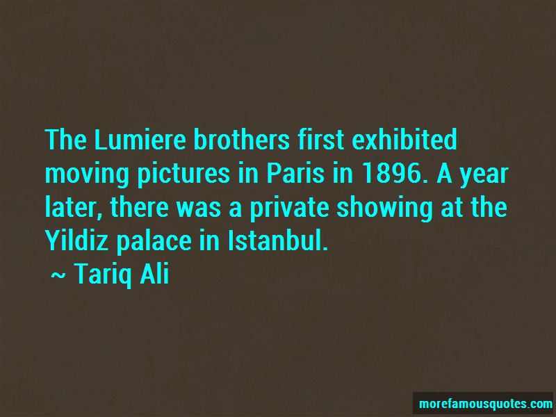 Lumiere Brothers Quotes