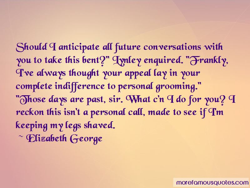 Lynley Quotes