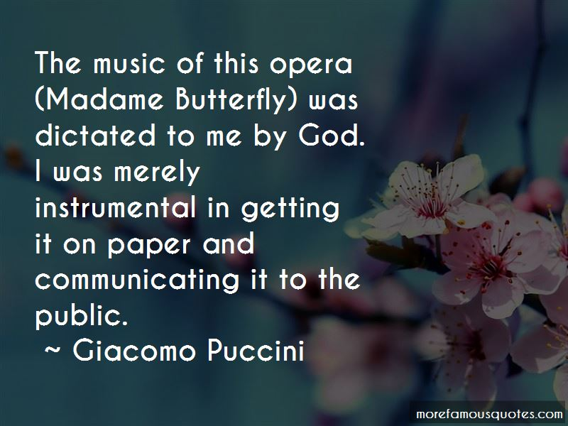 Madame Butterfly Quotes