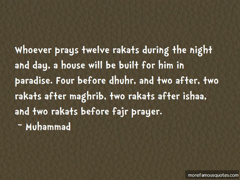 Maghrib Prayer Quotes
