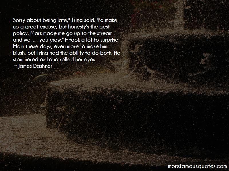 Make Him Blush Quotes: top 49 quotes about Make Him Blush