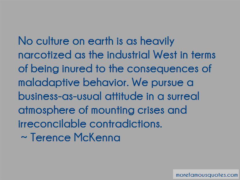 Maladaptive Behavior Quotes