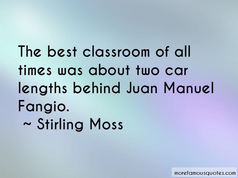 Manuel Fangio Quotes