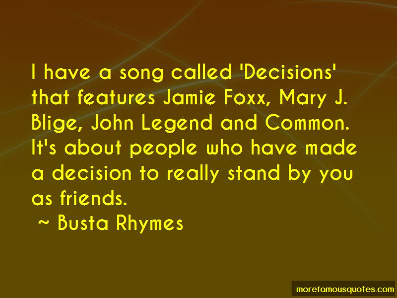 Mary J Blige Song Quotes